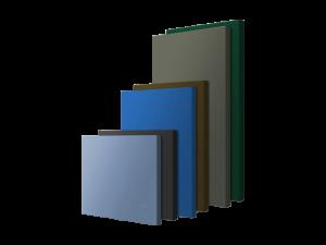 Renkli Akustik Kumaş Kaplı Panel